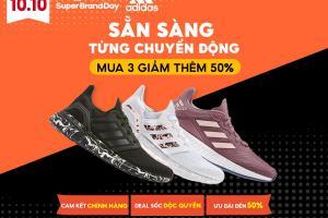 adidas tung siêu khuyến mãi lên đến 50%, độc quyền hôm nay trên Shopee