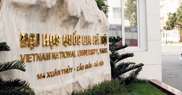 ĐH Quốc gia Hà Nội vào danh sách 1.000 trường đại học hàng đầu thế giới
