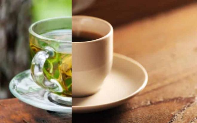 )Mỗi ngày uống 2 trà hoặc 1 cà phê  giảm nguy cơ đau tim và đột quỵ