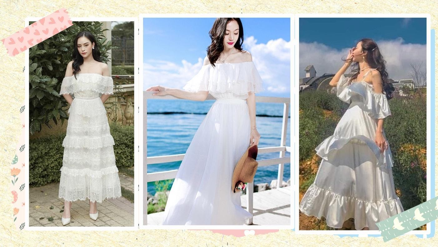 A collage of a person in a wedding dressDescription automatically generated with medium confidence